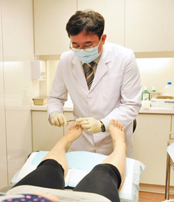 diabetic foot ulcer hong kong